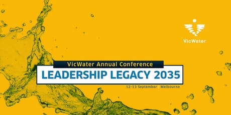 VicWater 2019 Annual Conference tickets