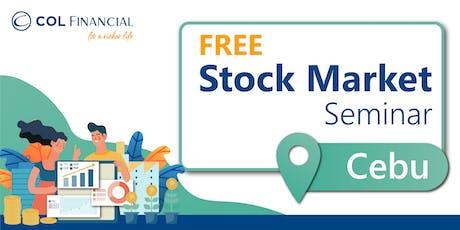 [COL CEBU] Building Wealth Through Stock Market Investing tickets