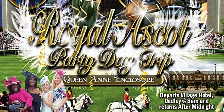 VIP STUSH: Royal Ascot Party Day Trip 2020 tickets