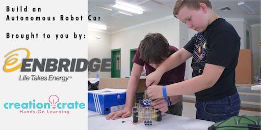 Enbridge Robotics Camp - Smart Car Build