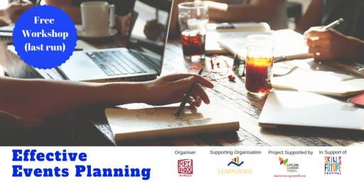 Effective Events Planning (25 July & 26 July 2019)