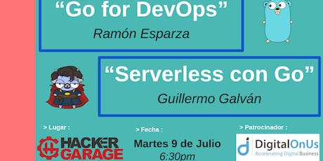 Golang GDL Meetup - Julio 2019 boletos