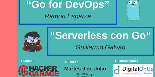 Golang GDL Meetup - Julio 2019