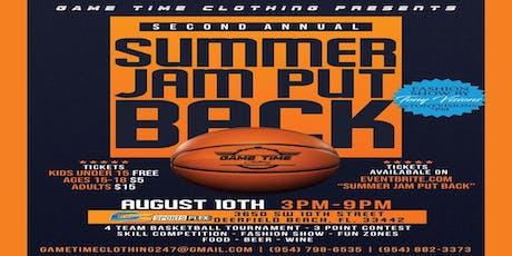 Summer Jam Put Back tickets