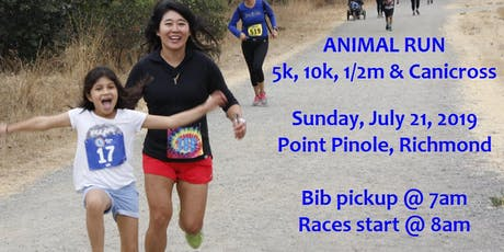 Animal Run Half Marathon Bay Area charity race tickets