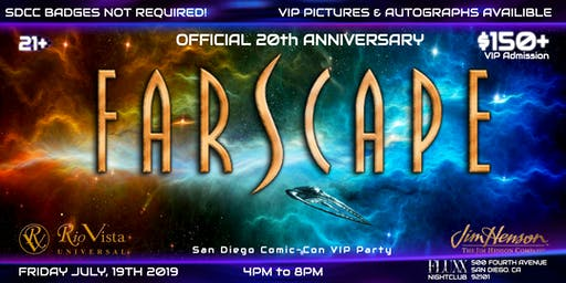 Official Farscape 20th Anniversary San Diego Comic-Con VIP Party