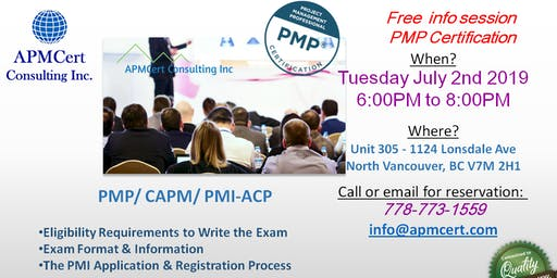 Free Info Session - PMP Certification