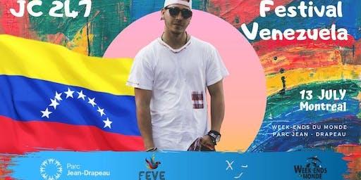 Week-Ends du Monde - Festival Venezuela x JC 247
