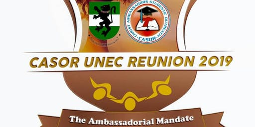 CASOR UNEC REUNION 2019: THE AMBASSADORIAL MANDATE