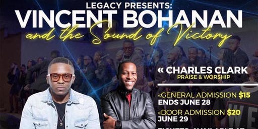 Legacy Presents: Vincent Bohanan and the Sound of Victory