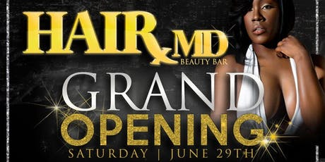 GRAND OPENING: HairMD Beauty Bar & Supply tickets