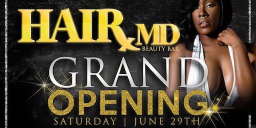 GRAND OPENING: HairMD Beauty Bar & Supply