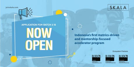 SKALA - Startup Accelerator Info Session tickets
