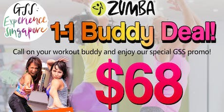 GSS Zumba Promo: 1-1 Buddy Package! tickets