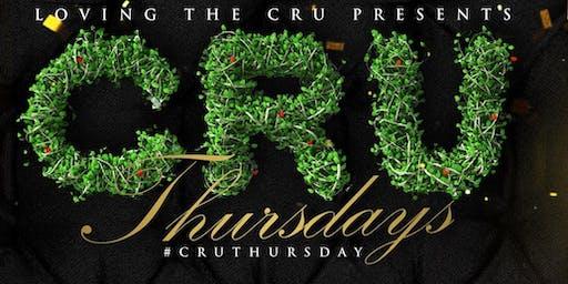 """Loving The CRU Presents"" CRU Thursdays"
