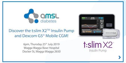 Discover the t:slim X2 Insulin Pump and Dexcom CGM - Wagga Wagga!