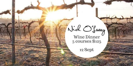Nick O'Leary Wine Dinner tickets