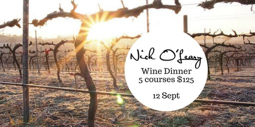 Nick O'Leary Wine Dinner
