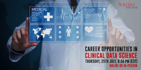 Career Opportunities in Clinical Data Science tickets