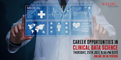 Career Opportunities in Data Science (Healthcare and Pharma)