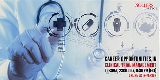 Career opportunities in Clinical Trial Management with 20 weeks internship