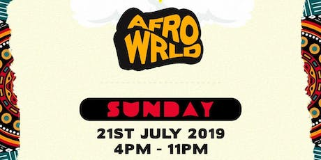AFROWRLD - DAY PARTY tickets