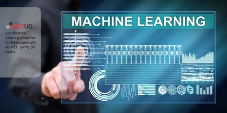 """Canberra: Machine Learning simplified for Developers with ML.NET - Jernej """"JK"""" Kavka tickets"""