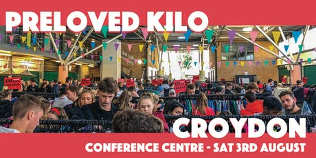 Croydon  Preloved Vintage Kilo tickets