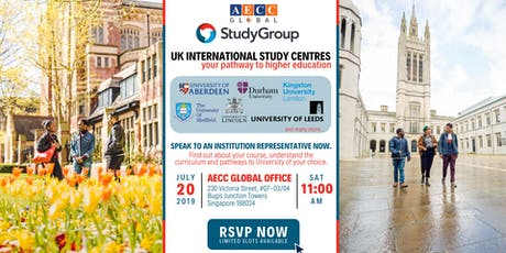 Study in UK with Study Group International Study Centre tickets