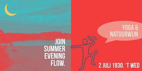 Summer Evening Flow tickets