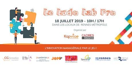 Le Ludo Lab Pro - L'innovation managériale par le Jeu ! billets