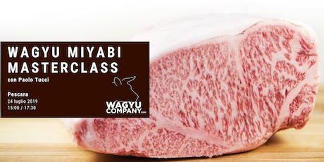 Wagyu Miyabi Masterclass tickets
