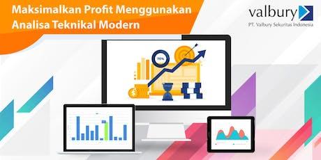 Seminar : Maksimalkan Profit Menggunakan Analisa Teknikal Modern tickets