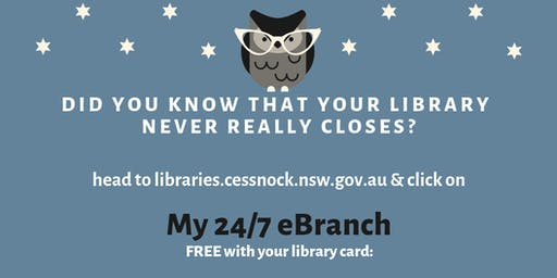 My 24/7 eBranch Workshop at Kurri Kurri Library