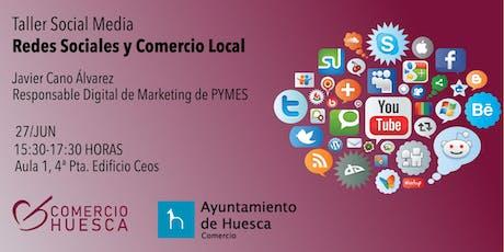 Comercio Local y Social Media entradas