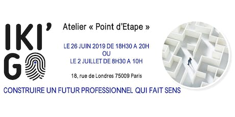 ATELIER POINT D'ETAPE PROFESSIONNEL billets