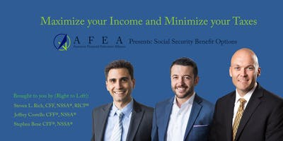 MAXIMIZE your Income and MINIMIZE your Taxes - Retirement Workshop