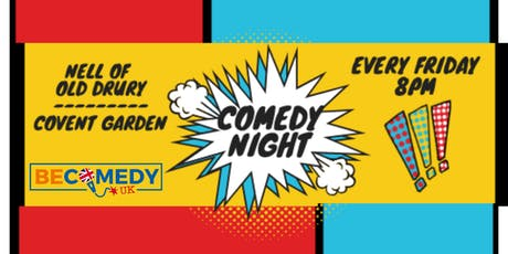 Friday's Comedy Night in Covent Garden - FREE ENTRY! tickets