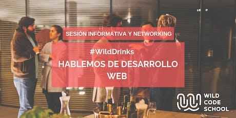 Cómo convertirte en desarrollador/a web - #WildDrinks entradas