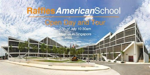 Raffles American School Morning Tea & Campus Tour (Meet in Singapore)
