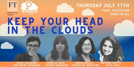 Women In DevOps: Keep your head in the clouds in collaboration with FT tickets