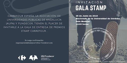 Invitación Gala Entrega Premios STAMP Carrefour