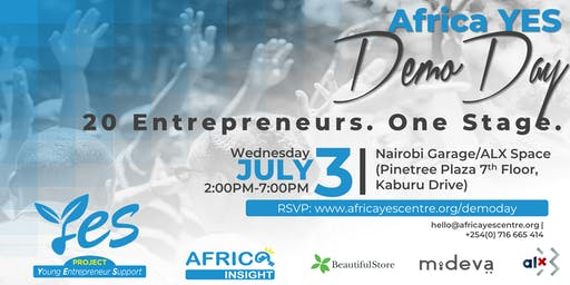 Africa YES  2019 Demo Day