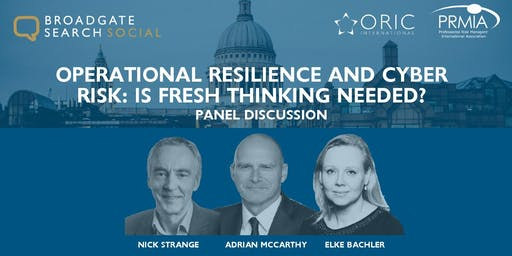 Operational Resilience and Cyber Risk: Is Fresh Thinking Needed?