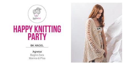 Knitting Party - Whisteria Shawl - Marina di Pisa biglietti