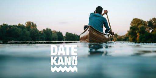 Date im Kanu (25-45 Jahre)