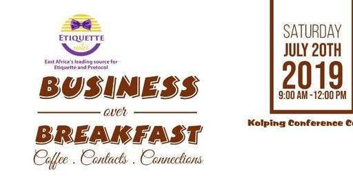 Business Over Breakfast Networking Event