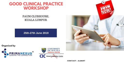 Good Clinical Practice Workshop (October)