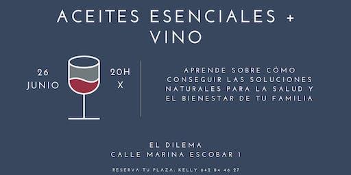 Aceites Esenciales + Vino