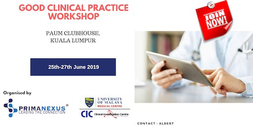 Good Clinical Practice Workshop (December)